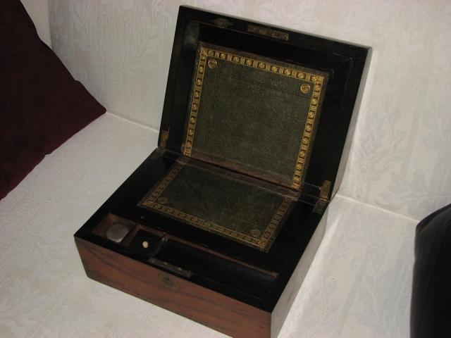 ... portable desk more open.jpg ... - Question About Antique Portable Writing Desk - Paper And Pen