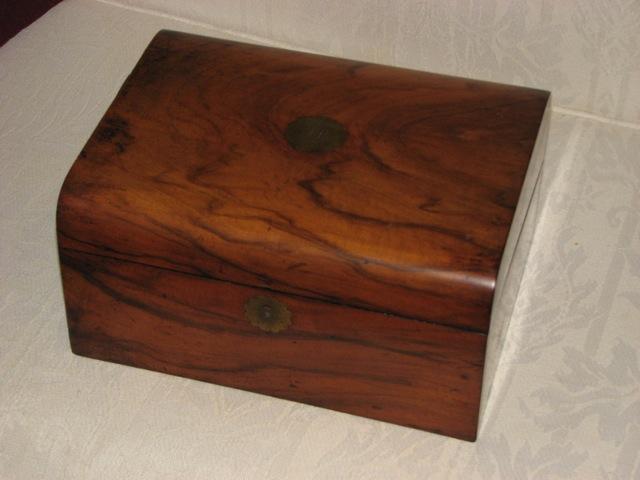 portable desk closed.jpg ... - Question About Antique Portable Writing Desk - Paper And Pen