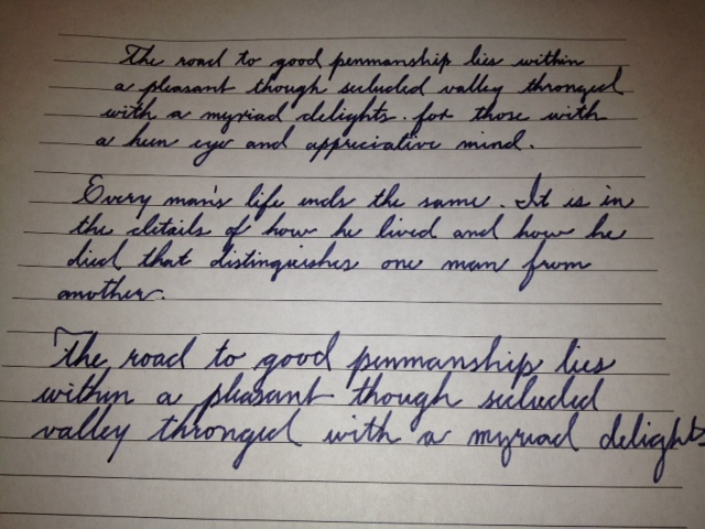 Learning The Palmer Method Of Business Writing - Page 5 ...
