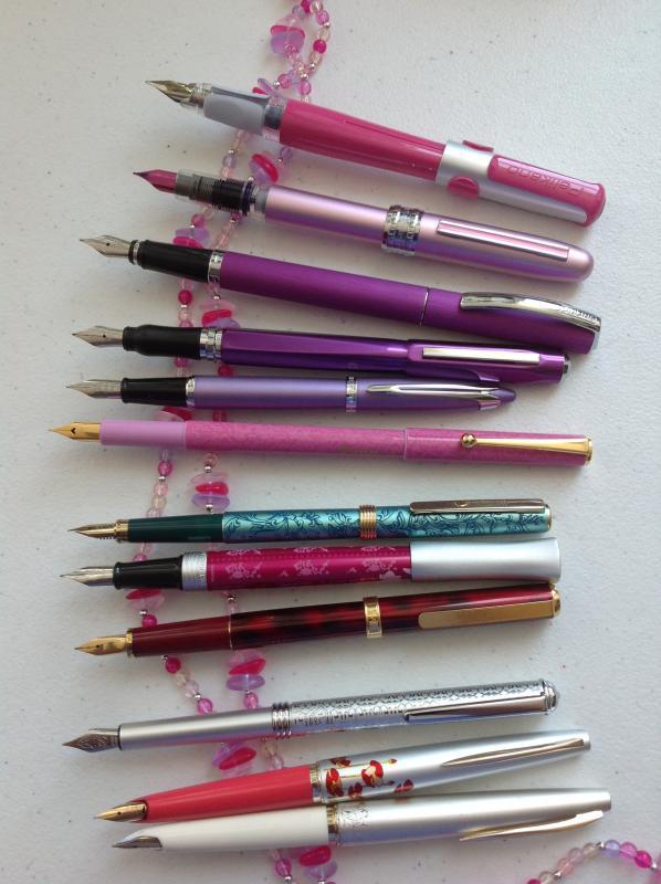 girly pens.JPG